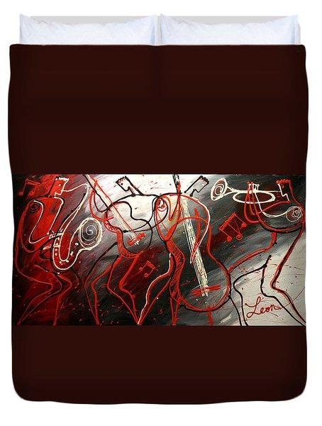 Cool Jazz 2 Duvet Cover