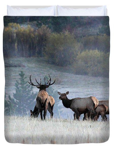 Cool Misty Morning Duvet Cover