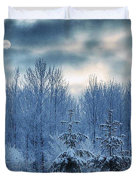 Cool Sunrise Duvet Cover