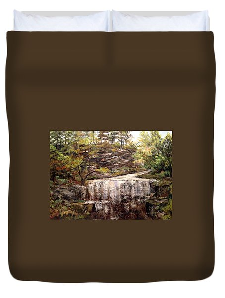 Cool Waterfall Duvet Cover