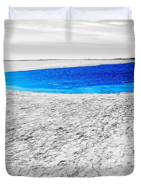Coorong Sandy Bay Duvet Cover