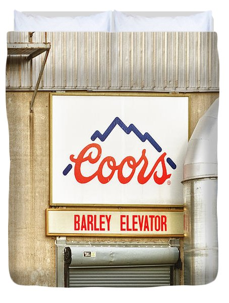 Coors Barley Elevator  Duvet Cover by James BO  Insogna