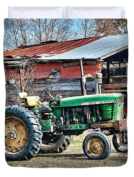Coosaw - John Deere Tractor Duvet Cover
