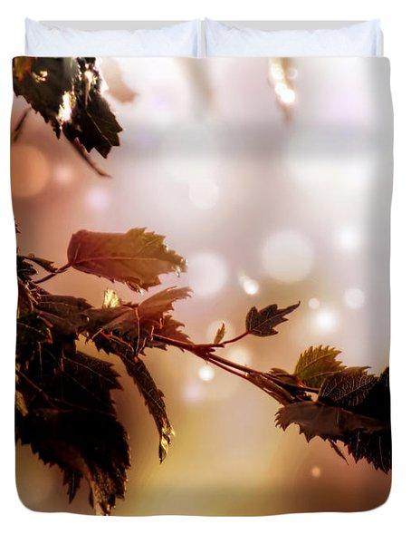 Copper Birch Duvet Cover