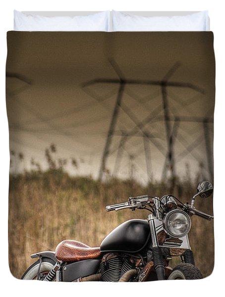 Copper Chopper Duvet Cover