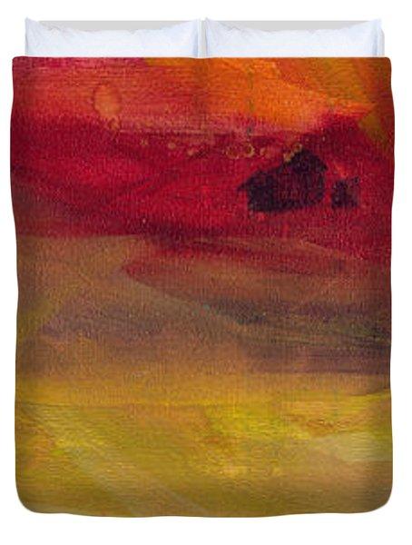 Copper Mist Duvet Cover by Robin Maria Pedrero