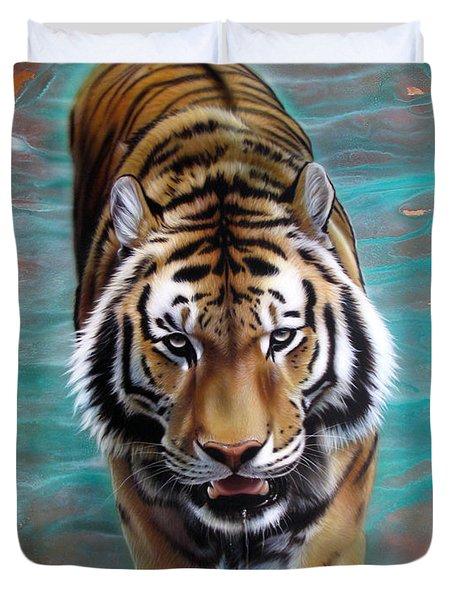 Copper Tiger 3 Duvet Cover