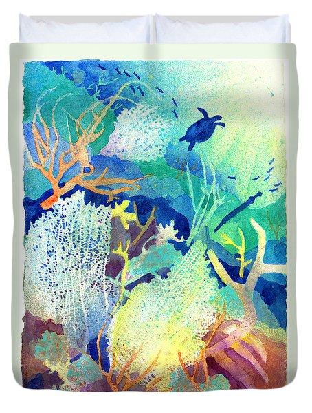 Coral Reef Dreams 2 Duvet Cover