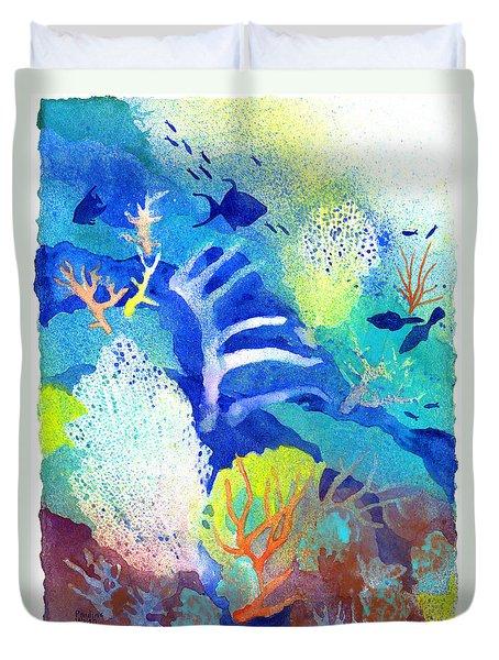 Coral Reef Dreams 3 Duvet Cover