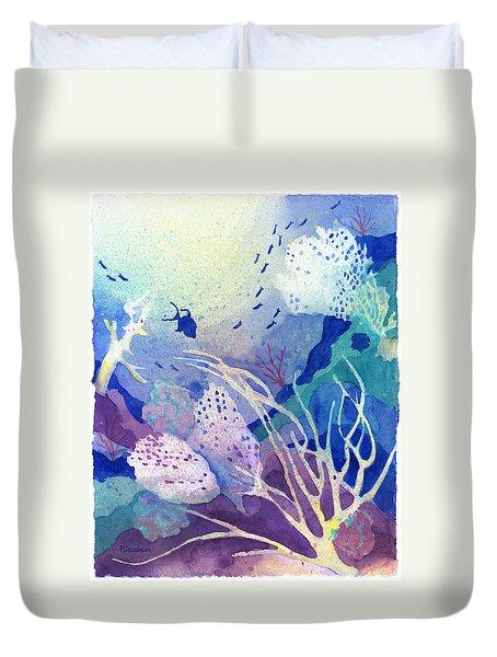 Coral Reef Dreams 4 Duvet Cover