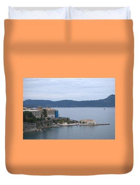 Corfu City 4 Duvet Cover