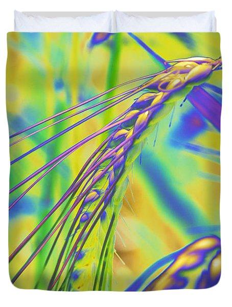 Corn Duvet Cover by Carol Lynch