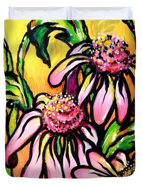 Corn Flowers Duvet Cover