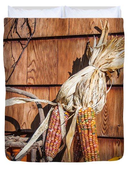 Corn Duvet Cover by Guy Whiteley