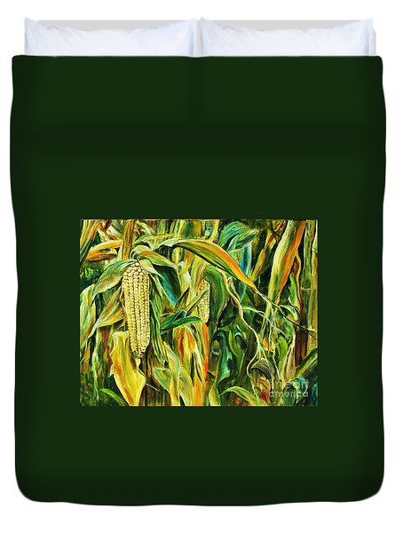 Spirit Of The Corn Duvet Cover