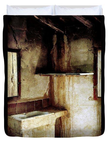 Corner Of Kitchen Duvet Cover by RicardMN Photography