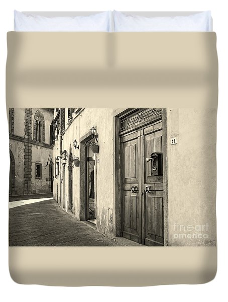 Corner Of Volterra Duvet Cover