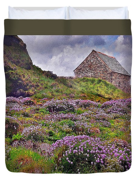 Cornish Countryside Duvet Cover
