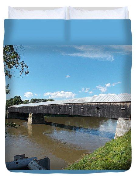Cornish Windsor Bridge Duvet Cover