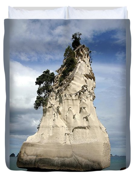 Coromandel Rock Duvet Cover by Barbie Corbett-Newmin