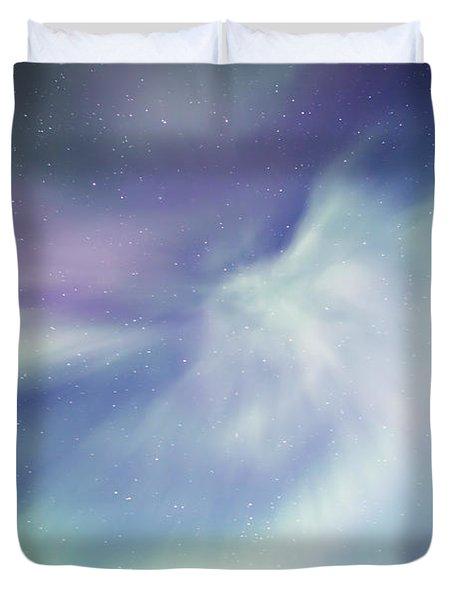 Coronal Aurora Duvet Cover