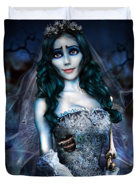 Corpse Bride Duvet Cover
