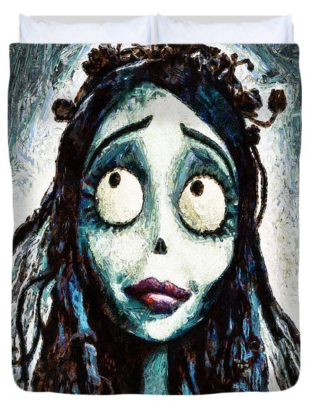 Corpse Bride Duvet Cover by Joe Misrasi