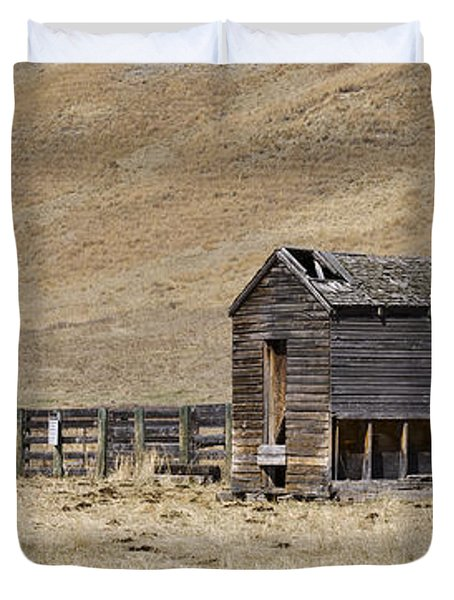 Corral Duvet Cover by Dee Cresswell