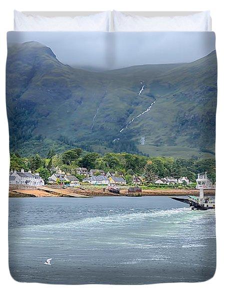 Corran Ferry Duvet Cover