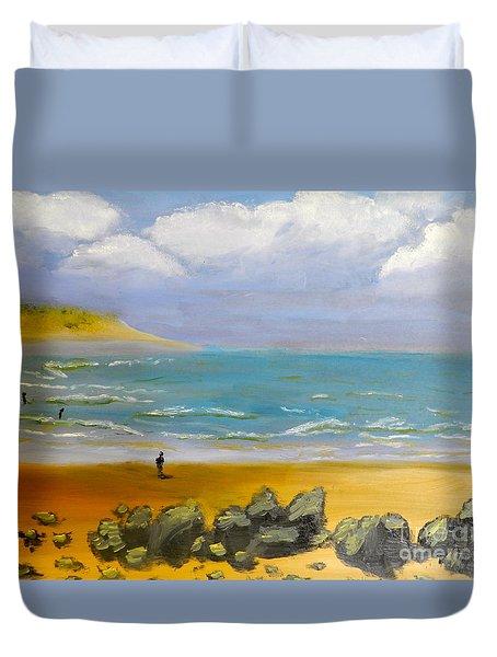 Corrimal Beach Duvet Cover