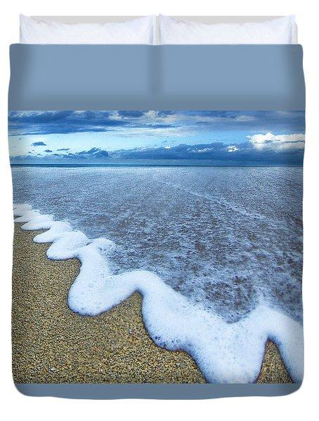 Corrugated Foam Duvet Cover
