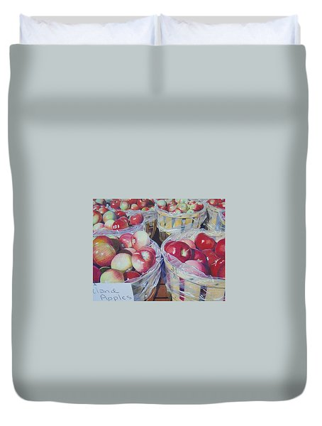 Cortland Apples Duvet Cover