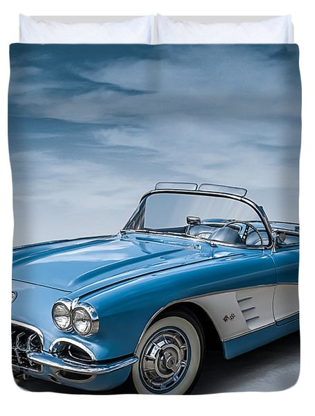 Corvette Blues Duvet Cover