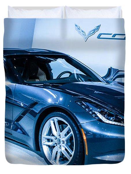 Corvette Stingray Duvet Cover