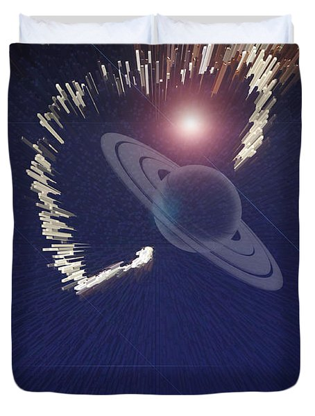 Cosmic Event Duvet Cover by Augusta Stylianou