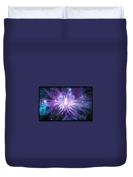 Cosmic Heart Of The Universe Duvet Cover