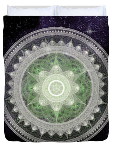 Cosmic Medallians Rgb 2 Duvet Cover