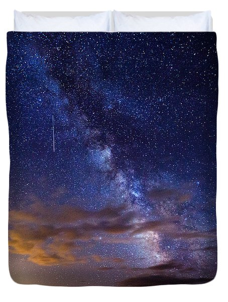 Cosmic Traveler  Duvet Cover