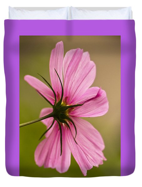 Cosmos In Pink Duvet Cover