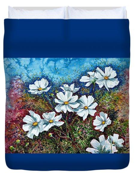 Cosmos  Duvet Cover by Zaira Dzhaubaeva