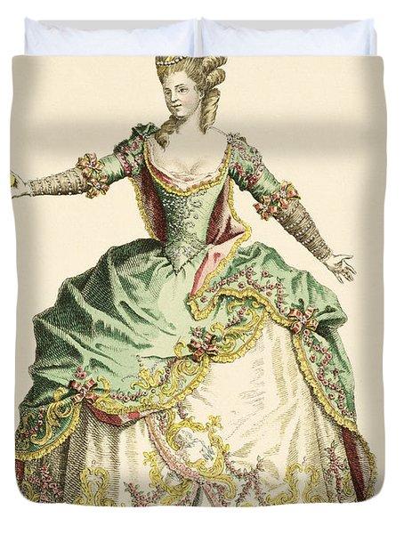 Costume For Venus In Several Operas Duvet Cover