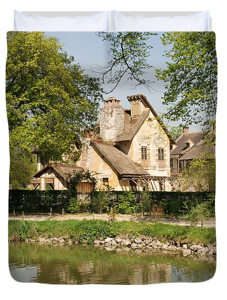 Cottage In The Hameau De La Reine Duvet Cover