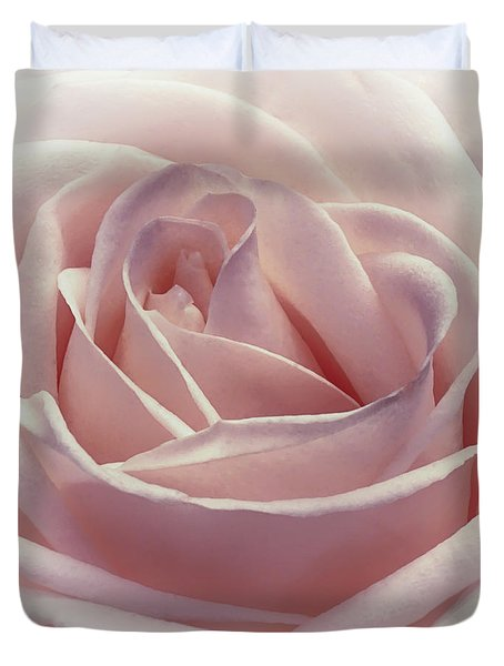 Cotton Candy Kisses Duvet Cover by Darlene Kwiatkowski