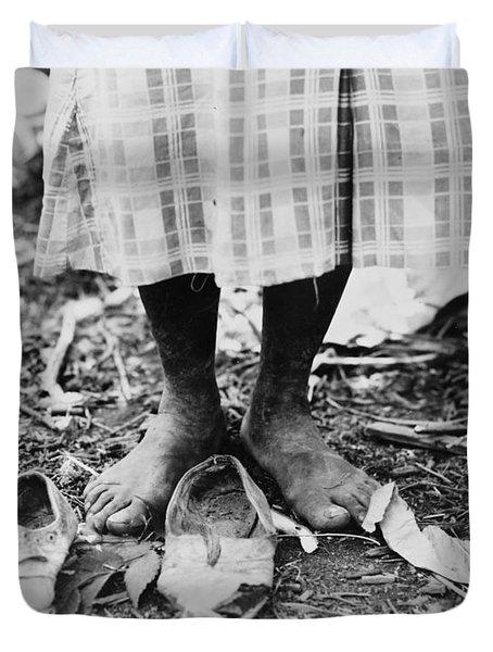 Cotton Picker, 1937 Duvet Cover by Granger