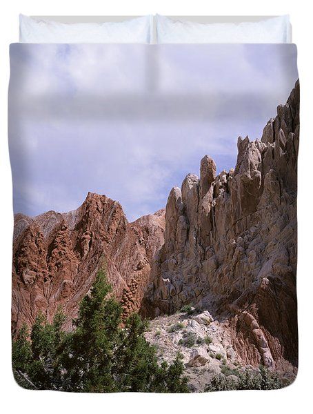 Cottonwood Spires 2 Duvet Cover