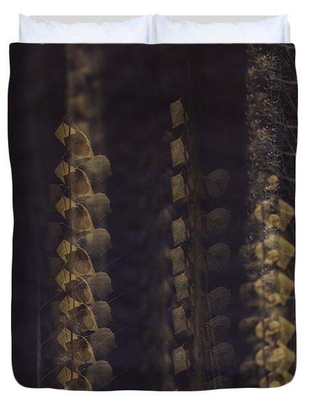 Cottonwoods In Winter Duvet Cover