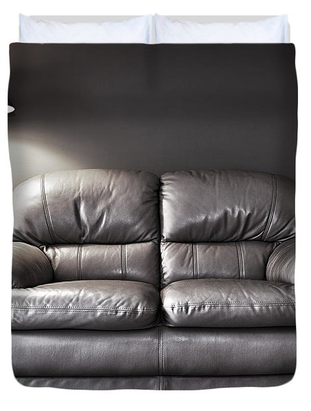 Couch And Lamp Duvet Cover by Elena Elisseeva