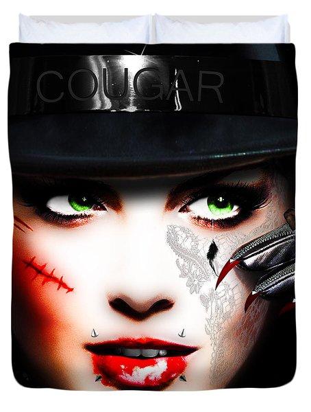 Cougar Duvet Cover
