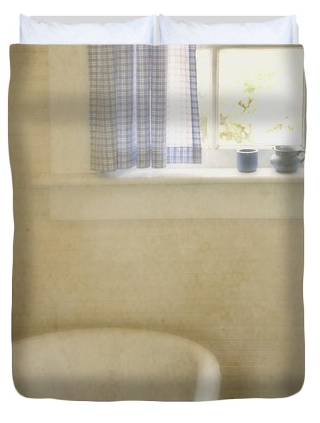 Country Bath Duvet Cover by Margie Hurwich