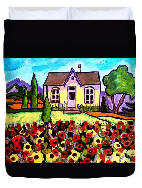 Country Cottage 3 Duvet Cover